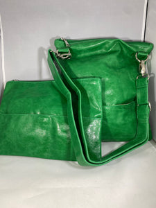 SQ Green 2 in 1 Handbag