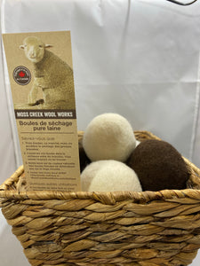 Moss Creek Wool Works Dryer Ball - Singles