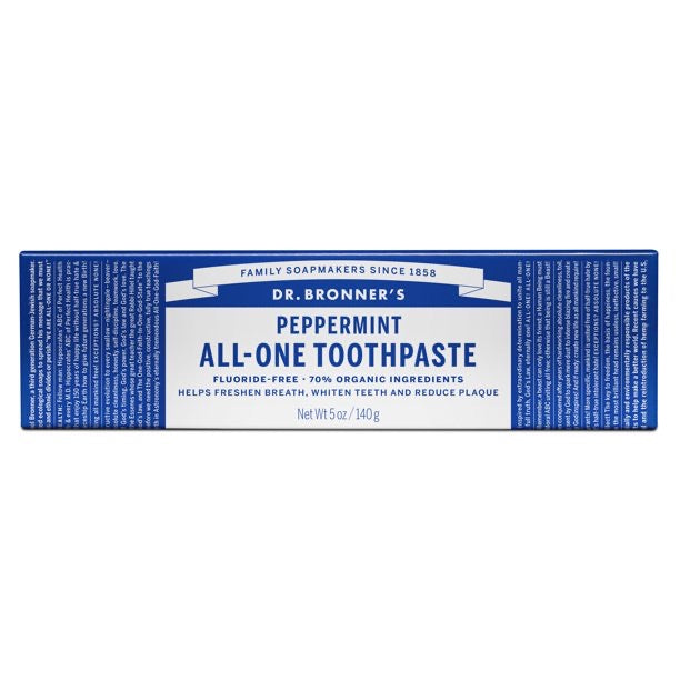 Dr. Bronner's All-One Toothpaste - Peppermint