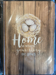 Home is Where Your Story Begins Journal