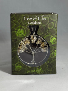 Tree Of Life Necklace Citrine