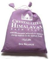 Crystallized Himalayan Bath Salt 1kg
