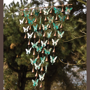 Rustic Bell Chime - Butterfly