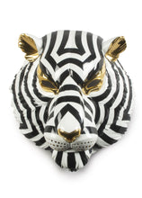 Load image into Gallery viewer, Lladró: Tiger Mask Black and Gold