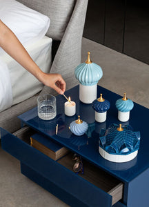 Lladró: 1001 Lights Collection. North Tower Candle 1001 Lights. Unbreakable Spirit Scent