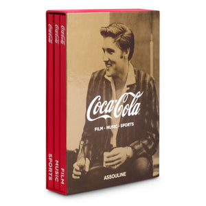 Assouline - Books: Coca-Cola Set of Three: Film, Music, Sports