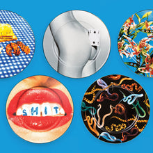 Load image into Gallery viewer, Seletti - Wears Toiletpaper Porcelain Plates: Porcelain Plate Snakes
