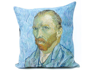 Musart on Pillows – Vincent Vangogh –  Self Portrait