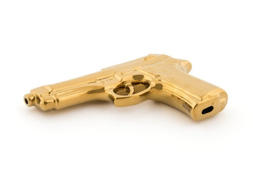 Seletti - Objects: Memorabilia Gold My Gun