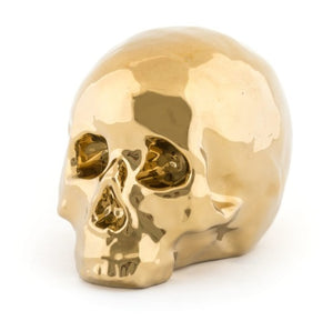 Seletti - Objects: Memorabilia Gold My Skull