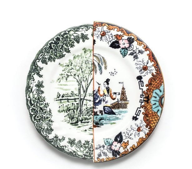 Seletti - Art de la table: Hybrid Dinner Plate Ipazia