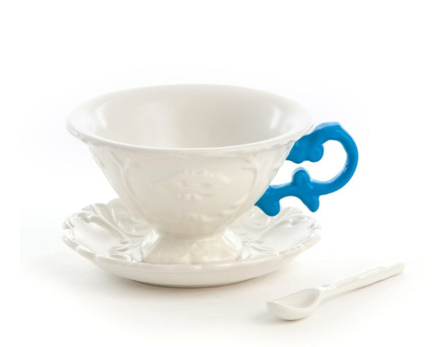 Seletti - Art de la table: I-Wares I-Tea Blue
