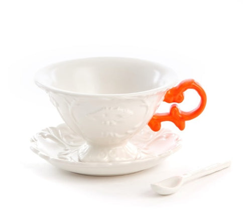 Seletti - Art de la table: I-Wares I-Tea Orange