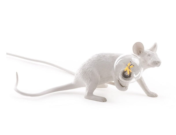 Seletti - Lighting: Mouse Lamp Lie Down