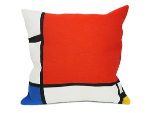 Musart on Pillows - Mondrian Jacquard Weave Pillow