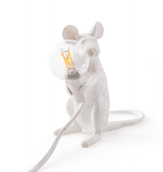 Seletti - Lighting: Mouse Lamp Sitting