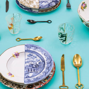 Seletti - Art de la Table: Gold Keytlery
