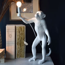 Load image into Gallery viewer, Seletti - Lighting: The Monkey Lamp White Standing