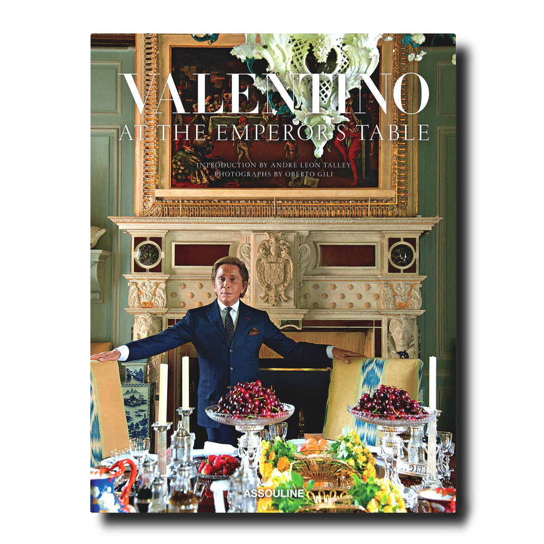 Assouline - Books: Valentino: At the Emperor's Table