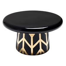 Bosa T-Table Black and Copper