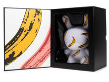 Load image into Gallery viewer, Kidrobot Banana Dunny Masterpiece Figurine - Andy Warhol