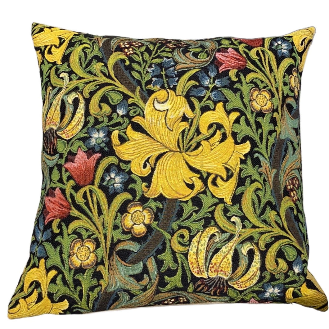 Musart on Pillows - Floral Jacquard Weave Pillows