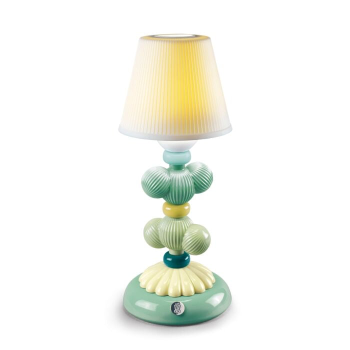 Lladró: Cactus Firefly Table Lamp Green