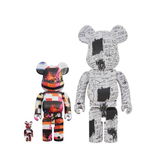 Bearbrick Last Supper Andy Warhol (400%, 100%) - Medicom Toys