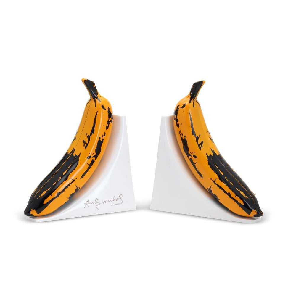 Kidrobot - Andy Warhol x Kidrobot Resin Banana Bookends