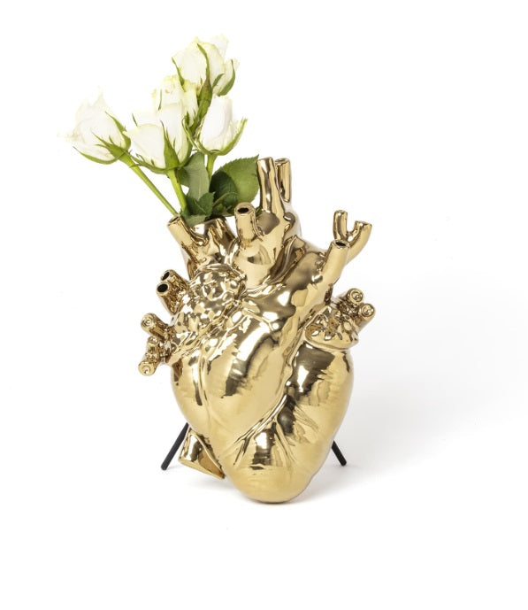 Seletti - Objects: Love in Bloom Vase Gold