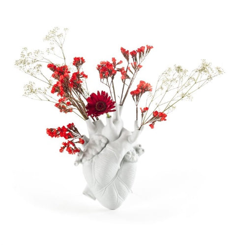 Seletti - Objects: Love in Bloom Vase White