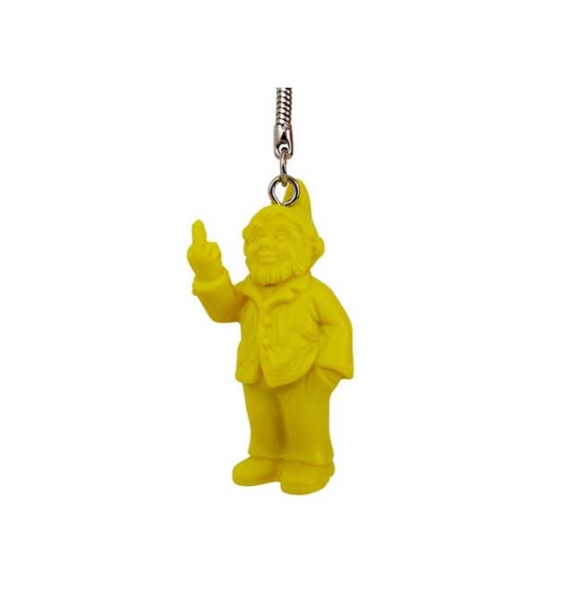 OH Keychain Middle Finger