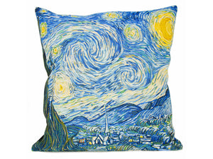 Musart on Pillows – Vincent Vangogh– Starry Night