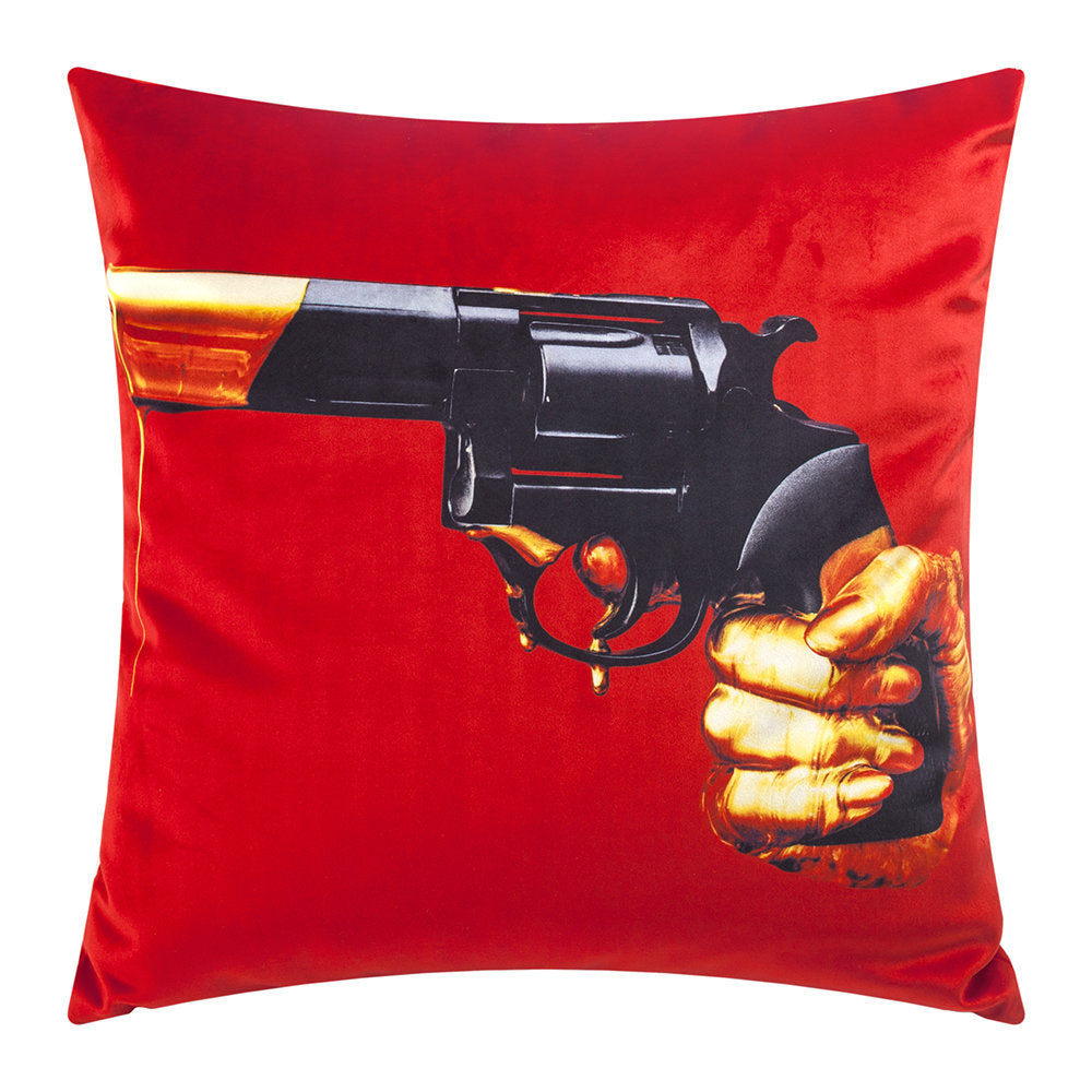 Seletti - Wears Toiletpaper Pillows: Pillow Revolver