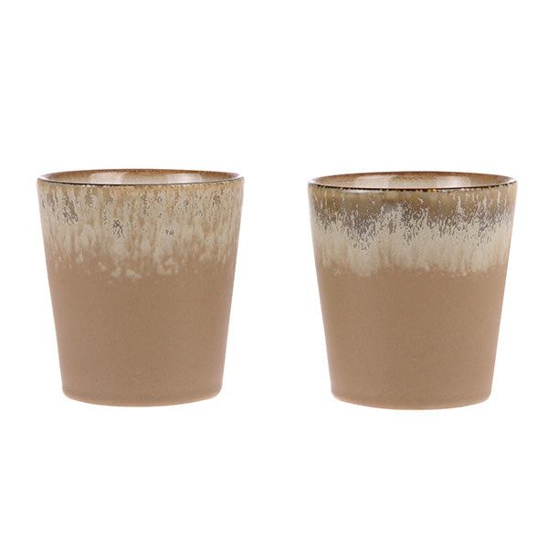 70's Ceramics: Tasse Bark, 180 ml