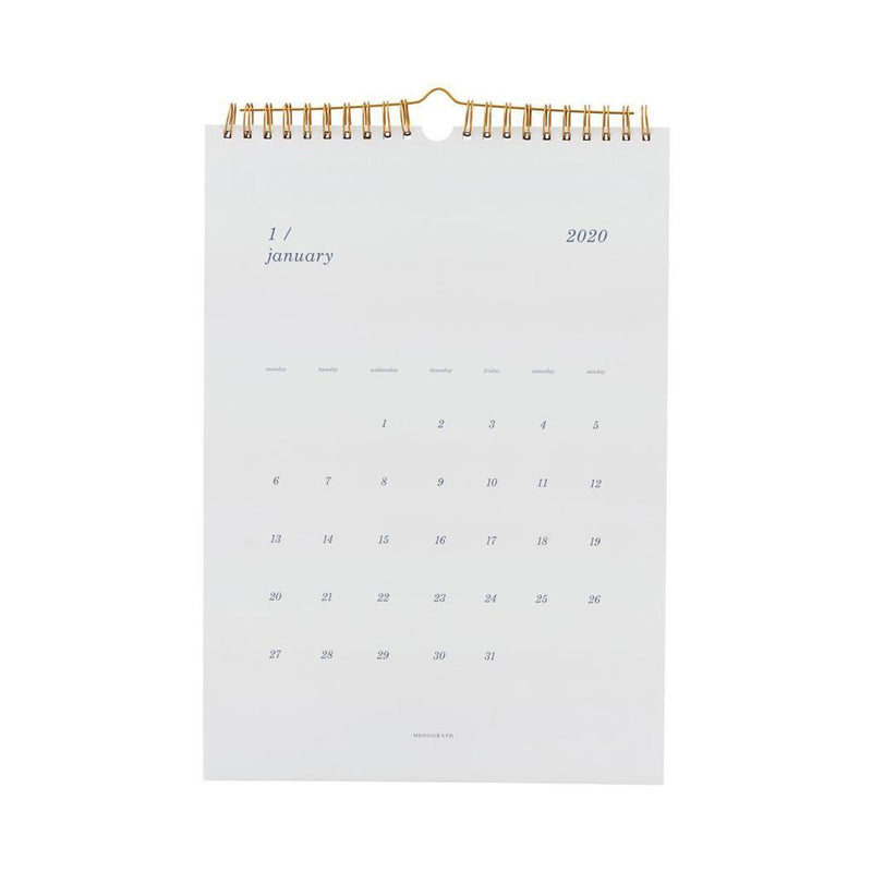 KALENDER WALL-Monograph-My Dutch Living Room GmbH