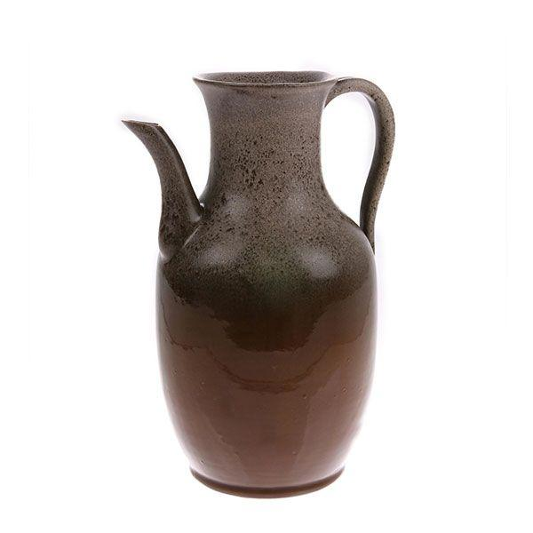 Keramik Vase Jug Brown Medium-HKliving-My Dutch Living Room GmbH