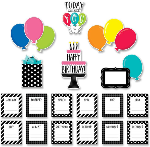 Core Decor Birthday Mini Bulletin Board Set