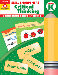 Critical Thinking Skill Sharpeners (Available for Gr. PreK-6)