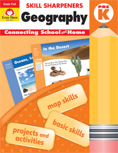Geography Skill Sharpeners (Available for Gr. PreK-6)