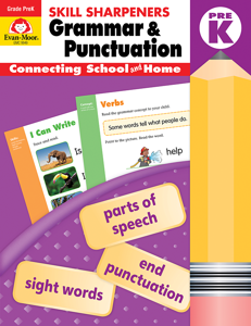 Grammar & Punctuation Skill Sharpeners (Available for Gr. PreK-6)