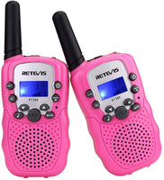 Retevis RT388 Kids Walkie Talkies with Flashlight - Assorted Colors