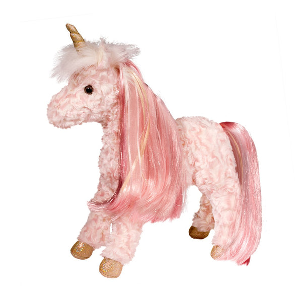 Rose Princess Unicorn Plush 12""