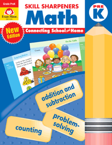 Math Skill Sharpeners (Available for Gr. PreK-6)
