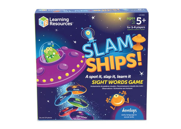 Slam Ships Sight Words Game