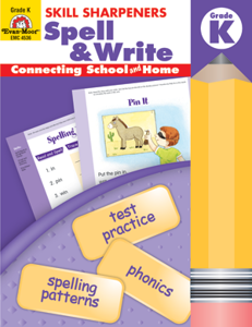 Spell & Write Skill Sharpeners (Available for Gr. K-6)
