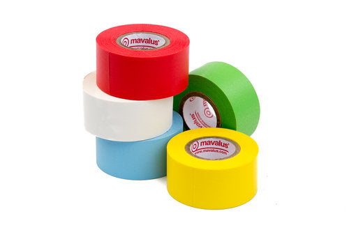 "Mavalus Tape 324"" Roll Assorted Colors"
