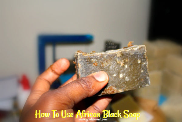 how to use African black soap