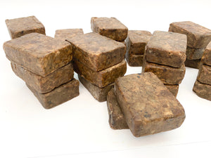 Unscented African Black Soap 100g