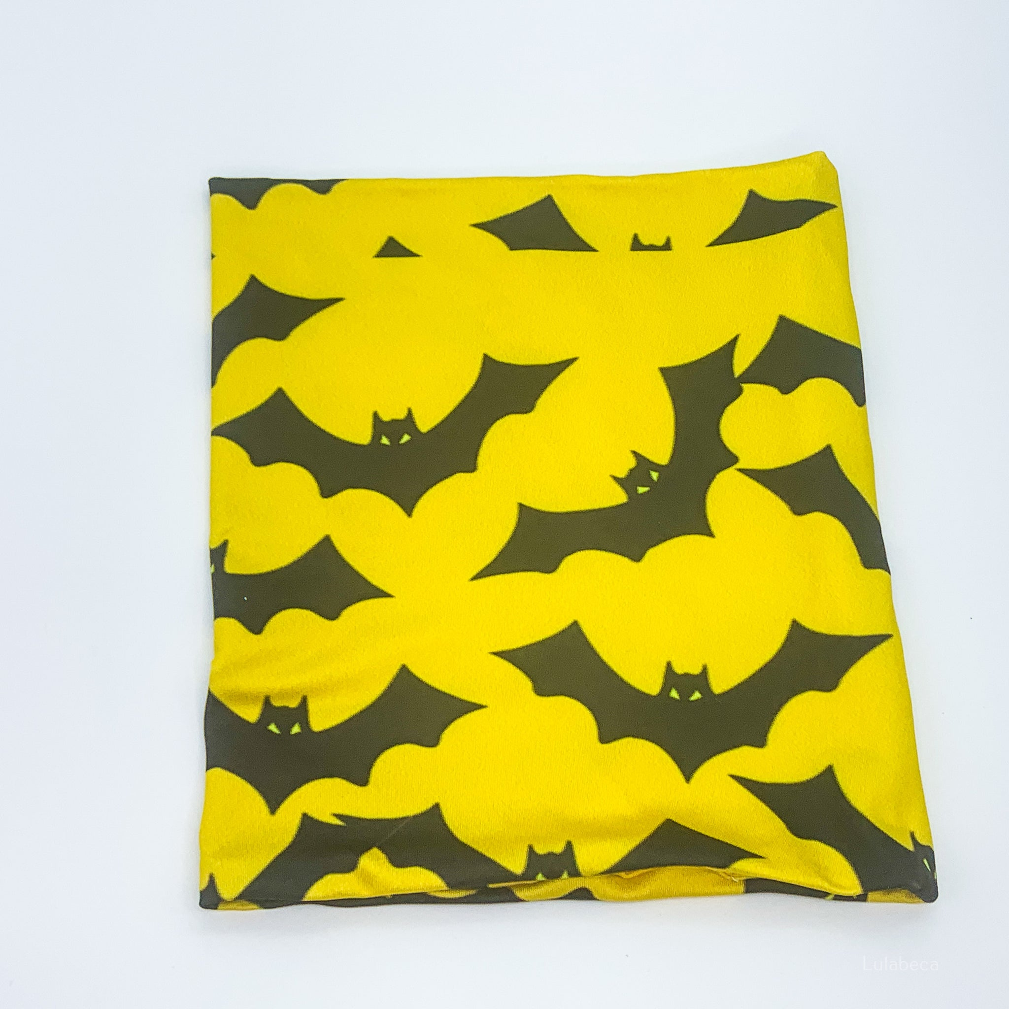 Kid's Morf Yellow Bats Face Cover